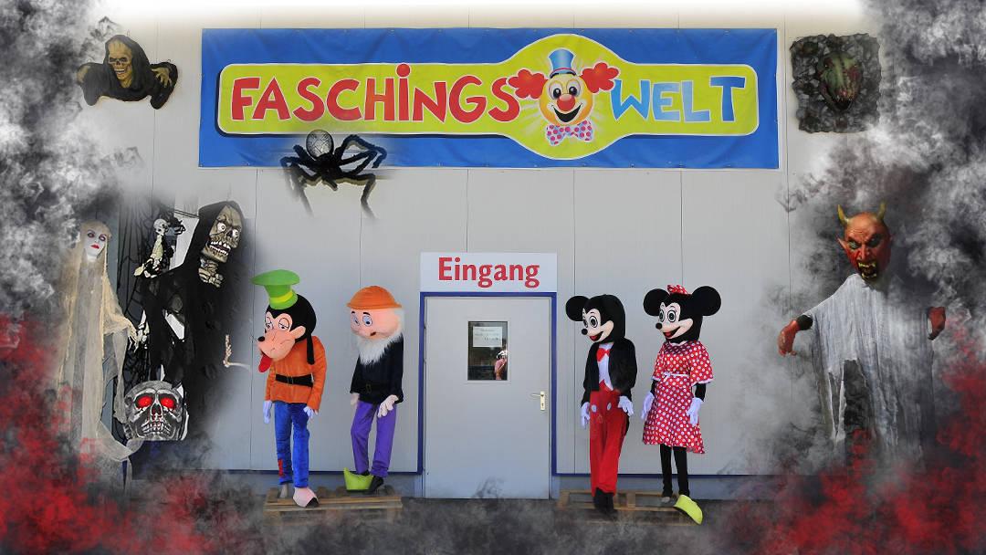 Faschingswelt Poggersdorf Shop Eingang
