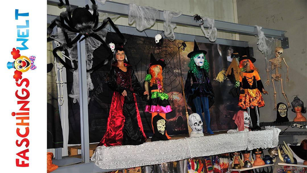 Faschingswelt Poggersdorf Thema Halloween und Spinnen