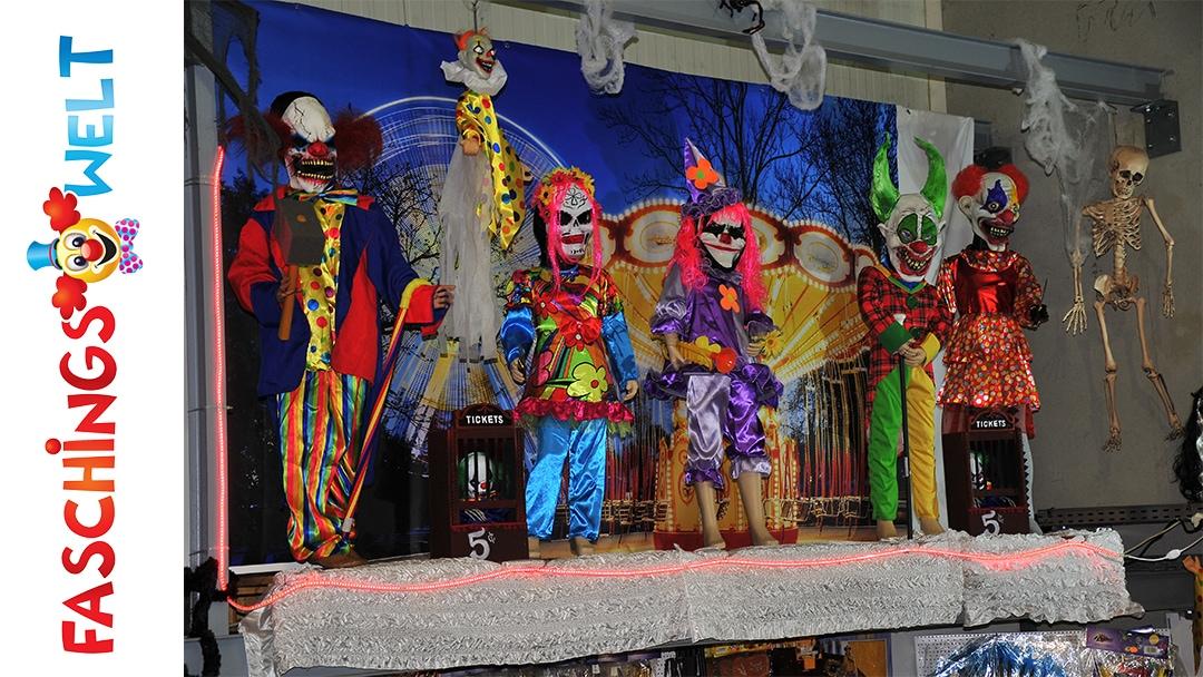 Faschingswelt Thema Clown